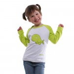 Greenpeace kinder t-shirt whale