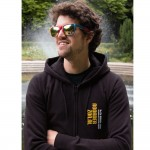 Noorderzon hooded sweater zwart 2012