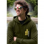 Noorderzon hooded sweater groen 2012