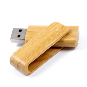 eco usb sticks - voorbeeld: usb stick bamboe 2