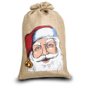 jute tas custom made kerst