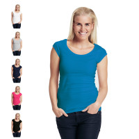 Neutral ladies roundneck t-shirt