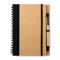 notebook met pen