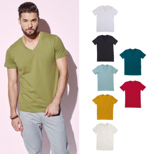 t-shirt v-neck for him