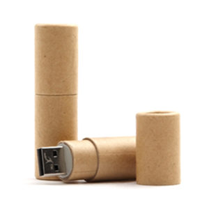 eco usb sticks - voorbeeld: usb stick papier