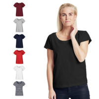 Neutral ladies loose fit t