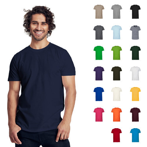 Neutral mens fitted t-shirt
