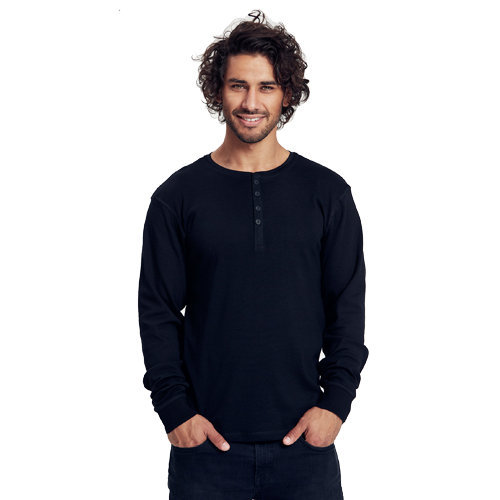 Neutral mens ls grandad t