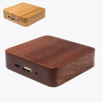 powerbank hout blok