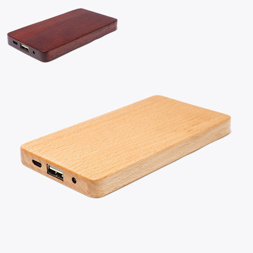 powerbank hout plat