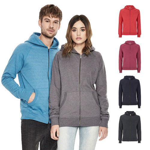 Continental Clothing Salvage unisex zip up hoody