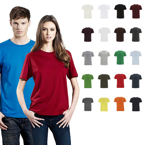 Continental Clothing unisex organic cotton t-shirt