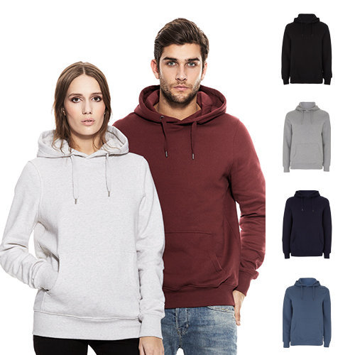 Continental Clothing unisex pullover hoody