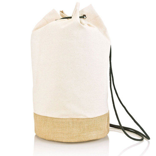 duffelbag van fairtrade canvas