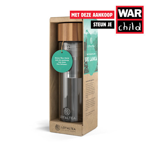 Tea to Go War Child Loyaltea