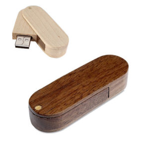 eco usb sticks - voorbeeld: usb stick woody