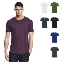 Continental Clothing bamboo jersey t-heren