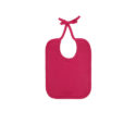 Continental Clothing organic bib hot pink