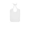Continental Clothing organic bib white