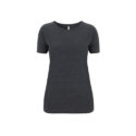 Continental Clothing Salvage dames t-shirt melange black