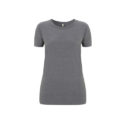 Continental Clothing Salvage dames t-shirt melange dark heather