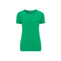Continental Clothing Salvage dames t-shirt melange green