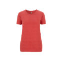 Continental Clothing Salvage dames t-shirt melange red
