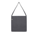 Continental Clothing Salvage tote sling bag melange dark heather