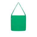 Continental Clothing Salvage tote sling bag melange green