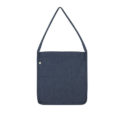 Continental Clothing Salvage tote sling bag melange navy