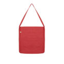 Continental Clothing Salvage tote sling bag melange red