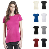 Continental Clothing womens organic slim fit t-shirt