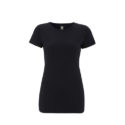Continental Clothing womens organic slim fit t-shirt navy