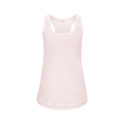 Continental Clothing womens racerback vest light pink