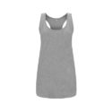 Continental Clothing womens racerback vest melange grey