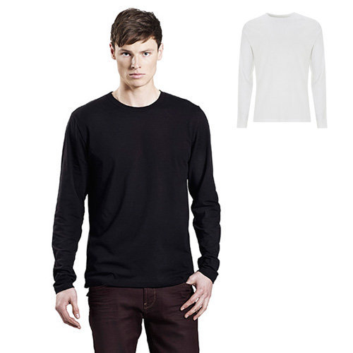 Continental Clothing mens long sleeve t-shirt