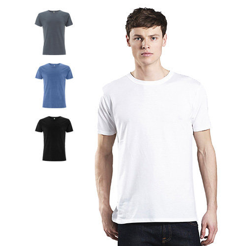 Continental Clothing Mens organic cotton tencel blend T-shirt