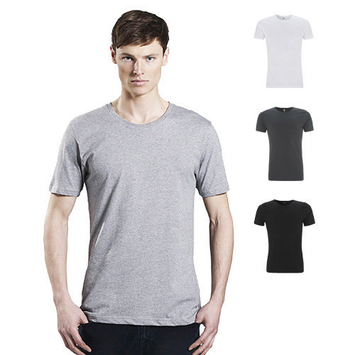 Cntinental Clothing mens organic slim-fit T-shirt