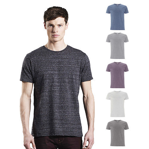 Continental Clothing Mens organic special yarn T-shirt