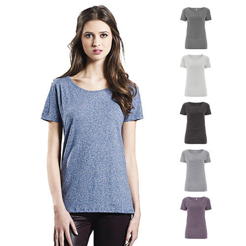 Continental Clothing Womens organic special yarn T-shirt