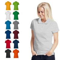Neutral ladies polo