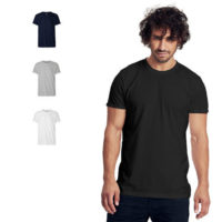 Neutral mens roll up T