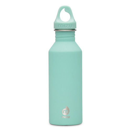 Mizu fles M5 soft touch spearmint
