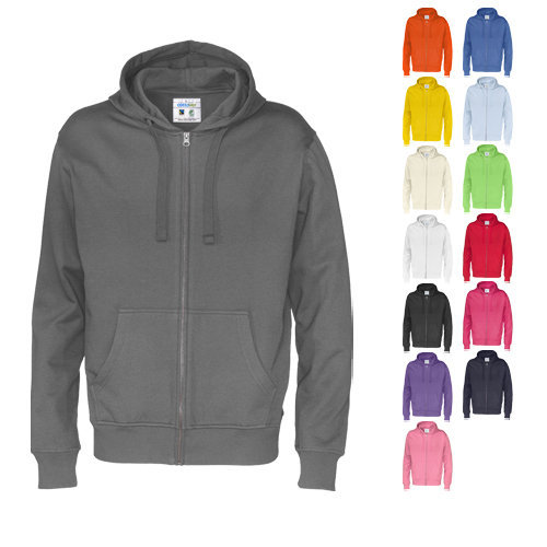 Cottover full zip hood man
