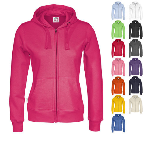 Cottover full zip hoody lady