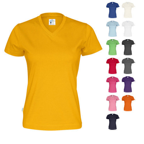 Cottover t-shirt v-neck lady