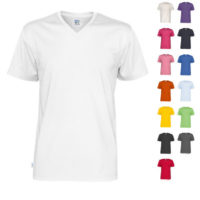 Cottover t-shirt v-neck man