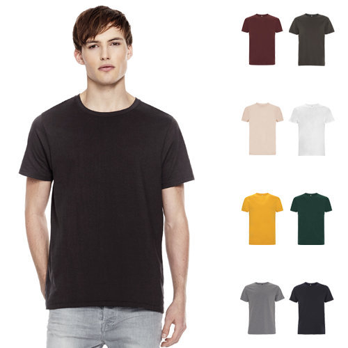 continental clothing mens heavy t-shirt