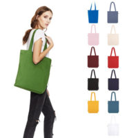 continental clothing organic tote bag