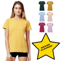Continental Clothing womens classic organic T